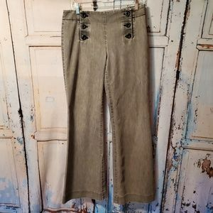 Kenneth Cole Reaction Jeans Pants Size 8 Weathered